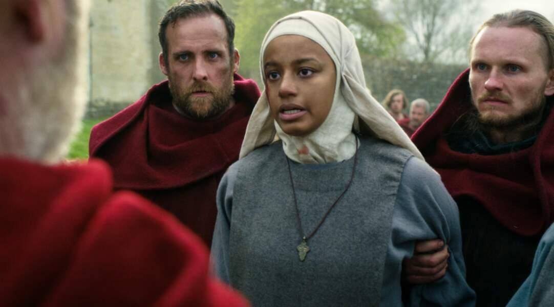 Igraine est la sœur d'un des héros de cette série...