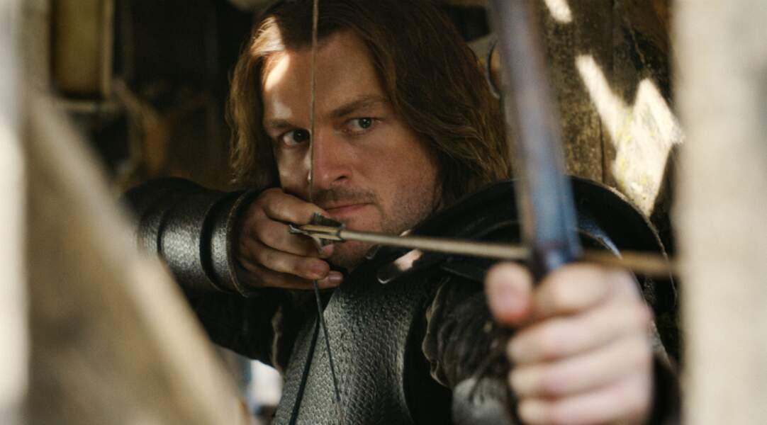Le chevalier Gauvain se bat au côté de Nimue