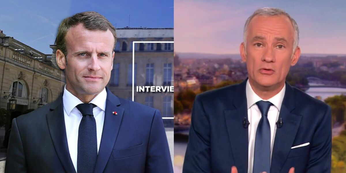 """Interview du 14 Juillet : Emmanuel Macron connaît-il les questions en amont ? """"L'avertissement"""" de Gilles Bouleau (VIDEO)"""