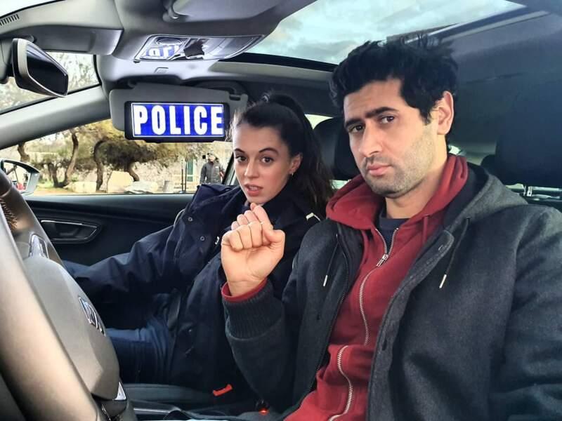 Dans le feuilleton de la Une, la jeune femme interprète une flic, au côté notamment de Georges (Mayel Elhajaoui)