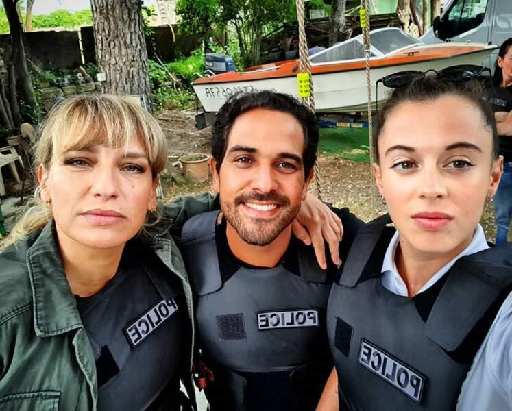 Allez petit selfie des flics de Sète !