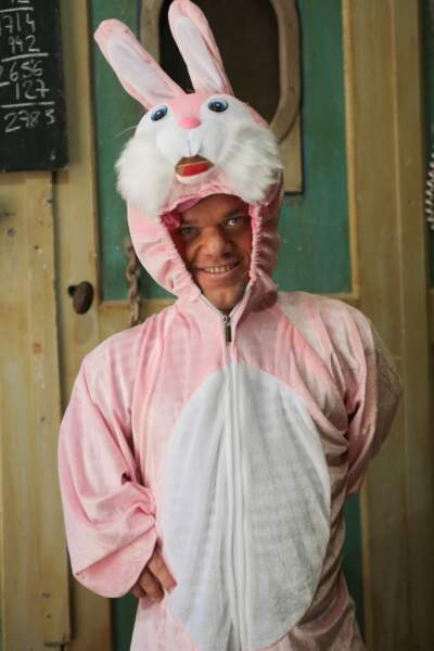 Un lapin de Pâques ?