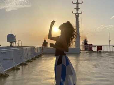 Iris Mittenaere en Grèce, Maëva Coucke à Cannes, Vaimalama Chaves à Tahiti... Les Miss France en vacances !