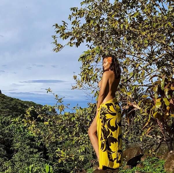 Vaimalama Chaves est quant à elle chez elle Polynésie Française