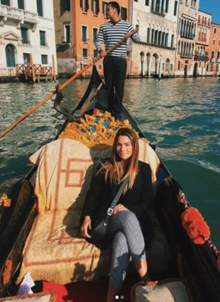 Tout sourire en gondole à Venise