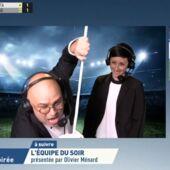 """Yoann Riou déchaîné sur La chaîne L'Equipe lors des buts du PSG face à l'Atalanta : """"Ce match nous rend Tata Yoyo"""" (VIDEO)"""