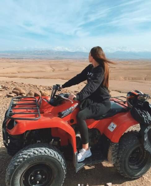 A l'aventure en quad
