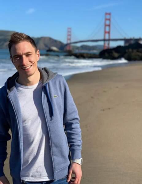 Devant le Golden Gate !