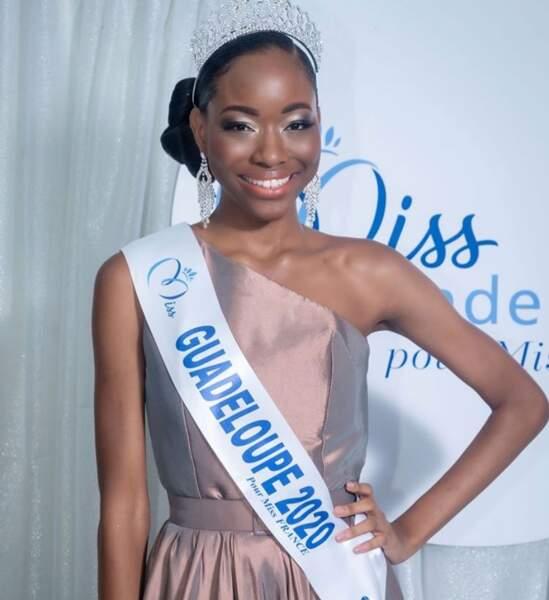 Voici Kenza Andrèze-Louison, Miss Guadeloupe 2020 !