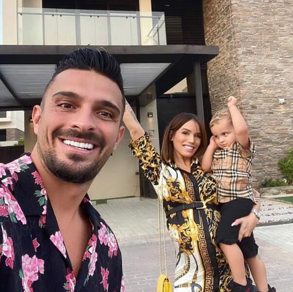 Julien Tanti passe lui aussi de bons moments en famille