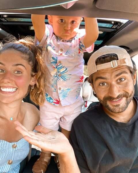 Jesta Hilmann a publié ce joli cliché de sa petite famille