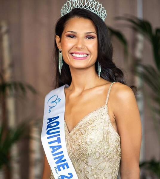 Leïla Veslard est la nouvelle Miss Aquitaine 2020