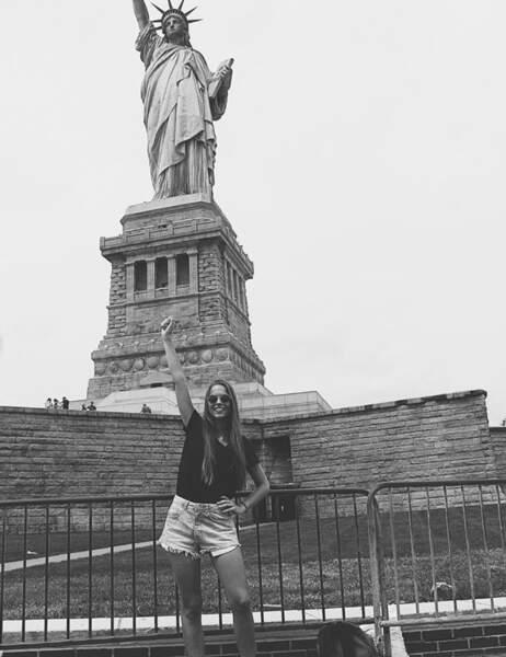 Photo souvenir d'un voyage à New York !