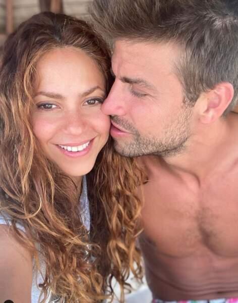 Encore plus d'amour : Shakira et Gerard Piqué en vacances.