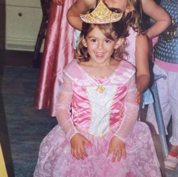 Vous la reconnaissez ? C'est l'adorable Kaia Gerber quand elle était enfant.