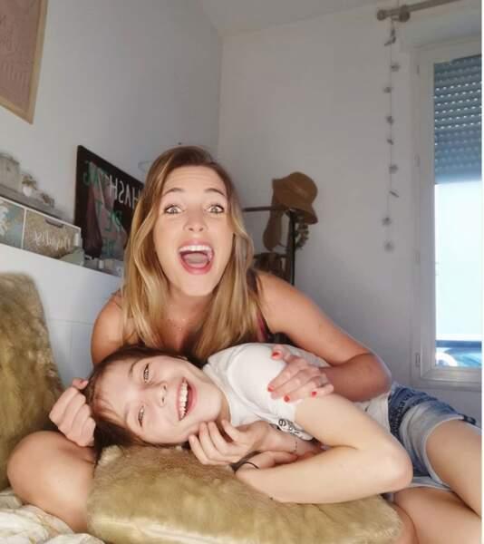 A 32 ans, l'actrice est maman d'un adorable petit garçon