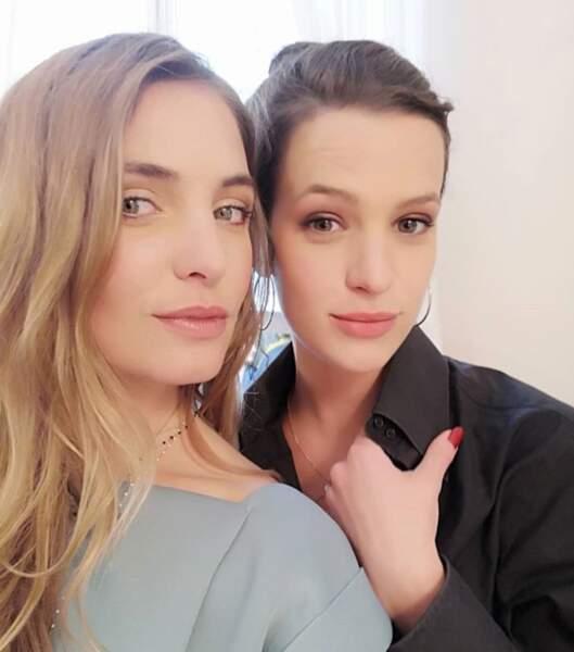 Si il y a bien une actrice de la série dont elle est proche, c'est Charlène François, alias Sophie