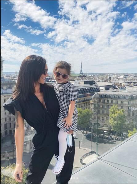 Tout comme Julia Paredes qui a profité de Paris avec la sienne