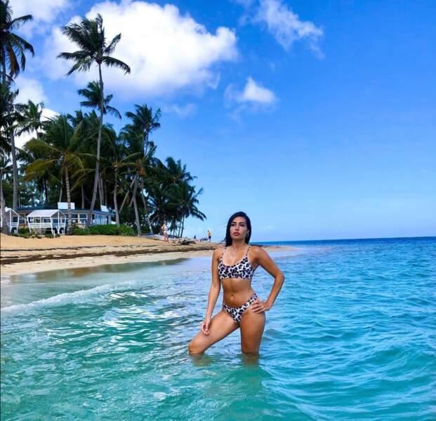 Safia a publié une rare photo en bikini