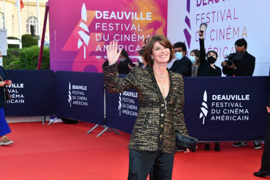 "Irene Jacob, avant la projection du film de Maïwenn, ""ADN"""