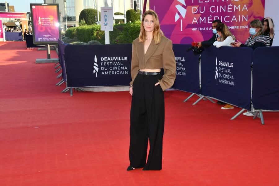 Celine Salette, juste avant la cérémonie de clôture