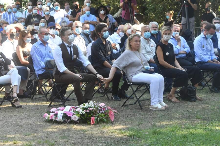 Michèle Lebon a dit un dernier adieu à sa tante