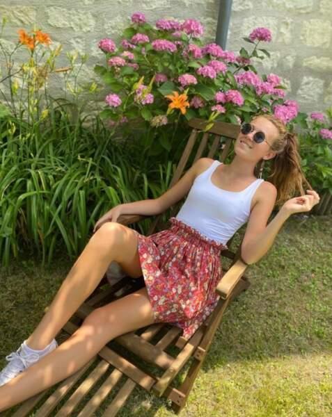 Cet été, Miss Limousin 2020 a profité d'un peu de détente et a partagé quelques photos sur Instagram