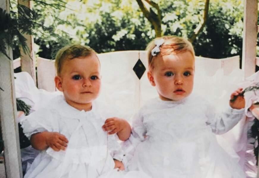 On commence avec de la douceur : Darina Scotti-Vartan et Emma Smet enfants.