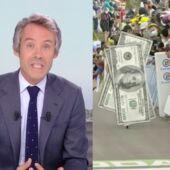Quotidien : Yann Barthès se paye le Tour de France qui lui réclame de l'argent après un reportage