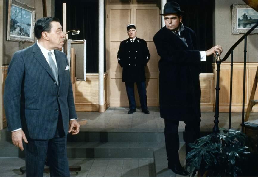 """Avec Fernandel dans """"L'homme à la Buick"""" (1968)"""