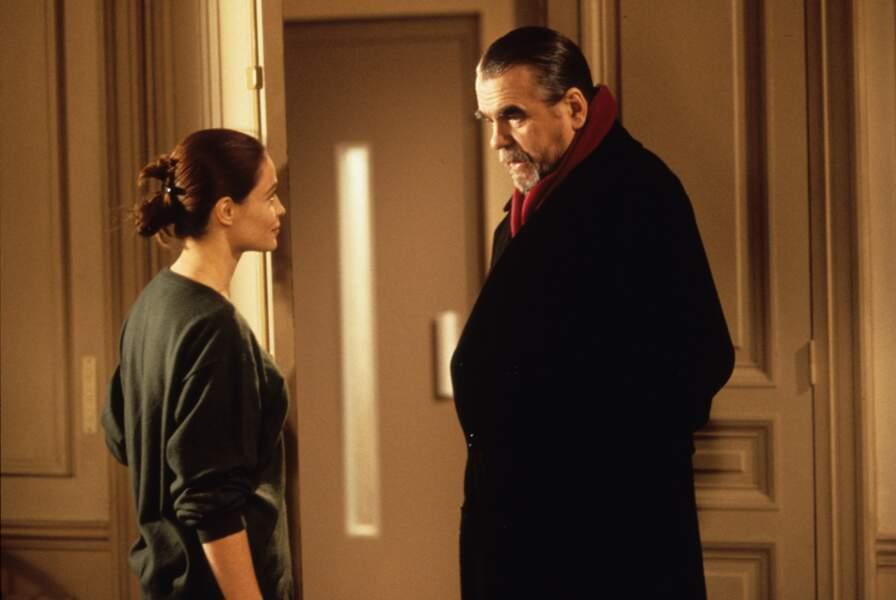 """Avec Emmanuelle Béart dans """"Nelly et monsieur Arnaud' de Claude Sautet (1995)"""