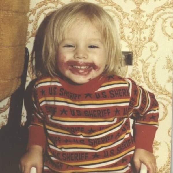 Voici Kristen Bell.