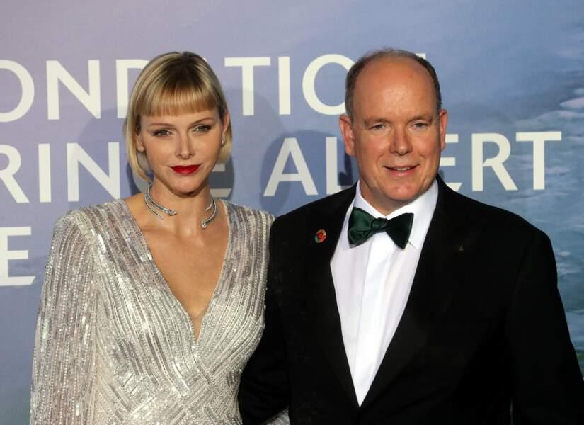 Le couple de souverains, très chics pour l'occasion !