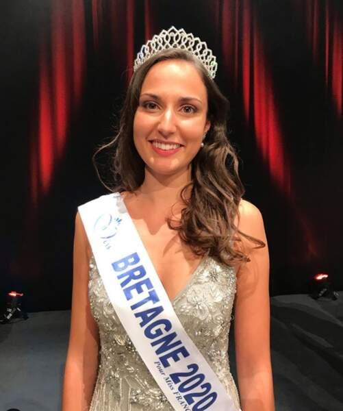 Julie Foricher est élue Miss Bretagne 2020
