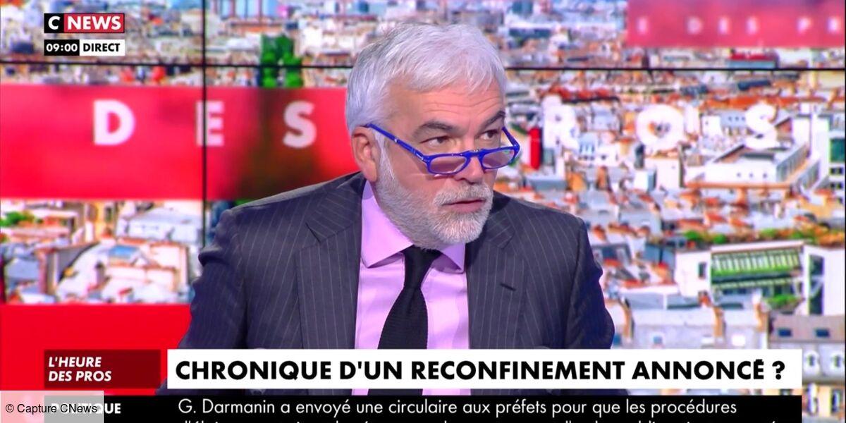 """Pascal Praud pris à partie par une chroniqueuse de l'Heure des pros : """"Vous me faites peur !"""" (VIDEO)"""
