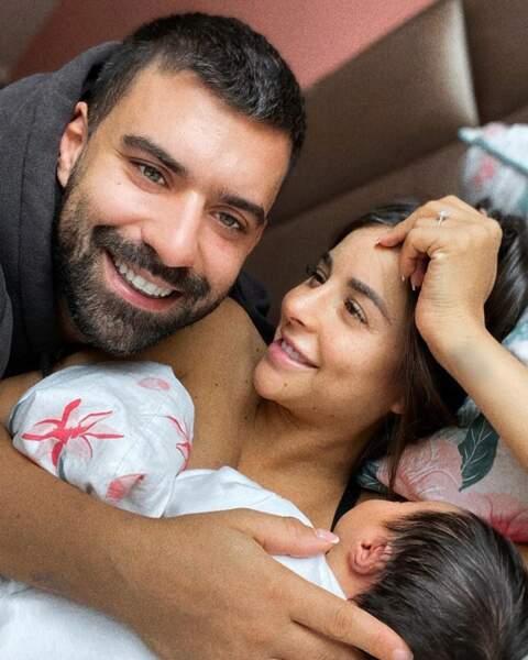 Vincent Queijo a le smile depuis la naissance de sa fille, Maria-Victoria.