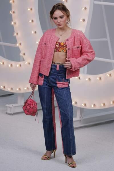 Lily-Rose Depp a fait sensation en total look maison