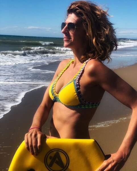 Juliette Tresanini en mode Brice de Nice en Catalogne.
