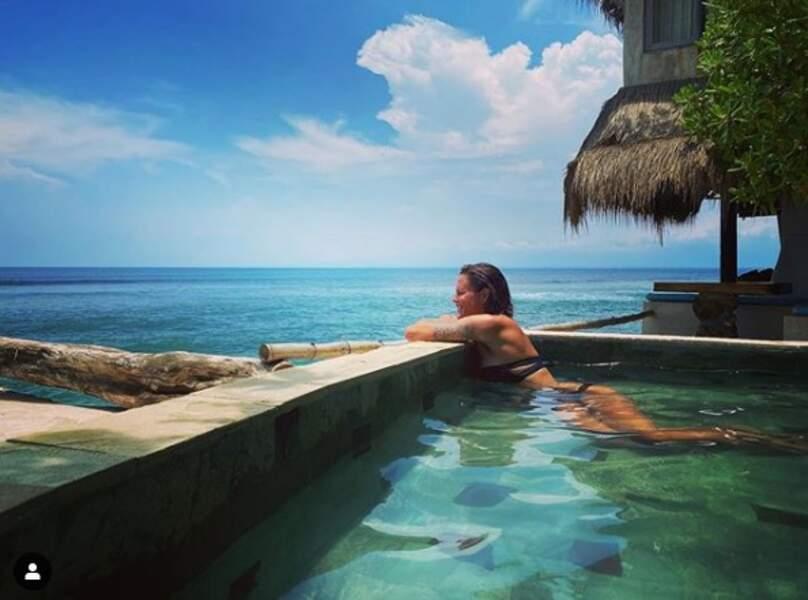 Les piscines, c'est bien aussi quand on en profite pour se détendre.