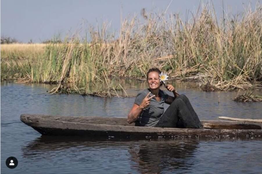 Souvenir de tournage durant l'émission A l'état sauvage avec Mike Horn en Namibie.