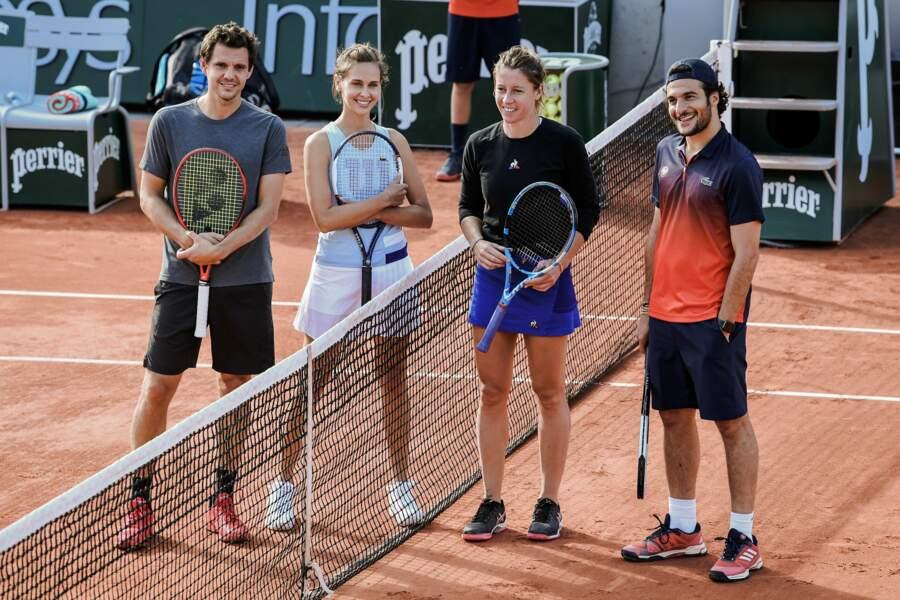 Une chose est sûre : les participants étaient tous ravis d'être présents sur le court Simonne-Mathieu de Roland-Garros pour la bonne cause !