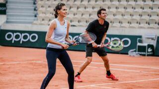 Roland-Garros : Ophélie Meunier tout sourire, Amir bon joueur... les stars mouillent le maillot (PHOTOS)