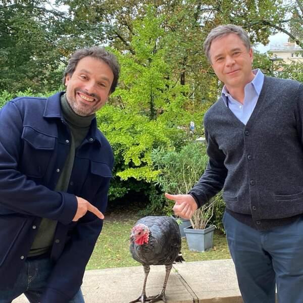 Guillaume de Tonquédec et Bruno Salomone vont-ils se disputer la dinde dans cet épisode ?