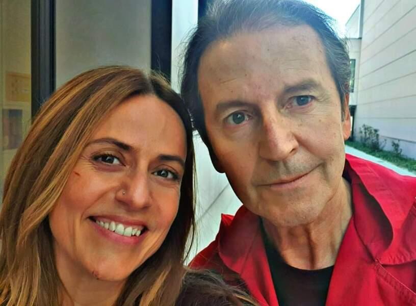Un petit selfie pour Itziar Ituño (Raquel) et Pep Munné