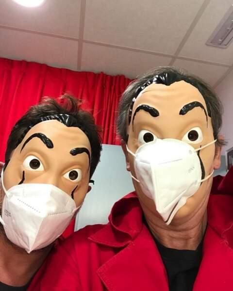 Pandémie oblige, même Dali se retrouve à porter le masque !