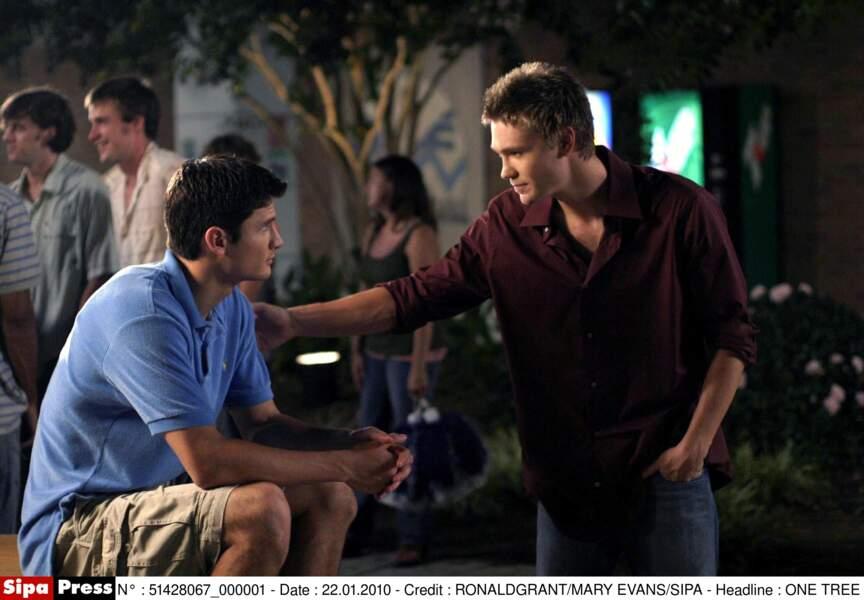 Avec Chad Michael Murray, ils incarnaient les deux rôles-titres de la série