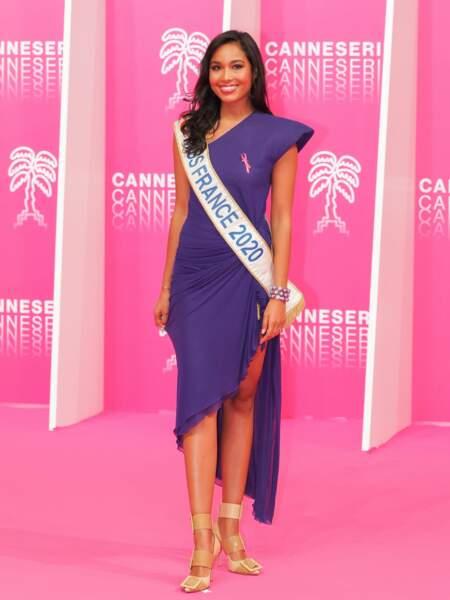 Clémence Botino, Miss France 2020 sur le tapis rose !