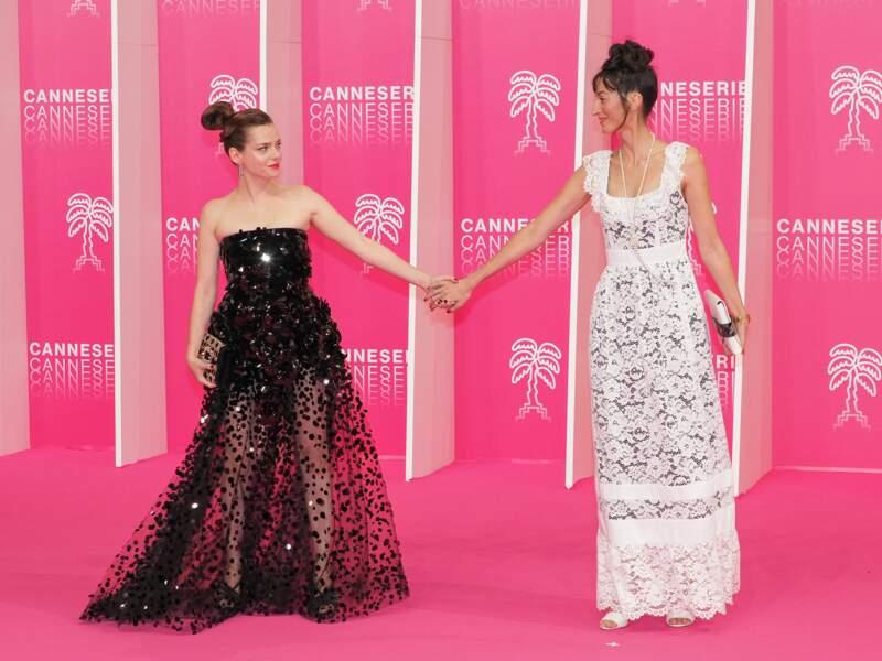 Roxane Mesquida et Laetitia Eido, membres du jury de Canneseries 2020