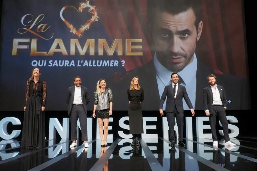 """Les acteurs de """"La flamme"""" pour la cérémonie d'ouverture"""