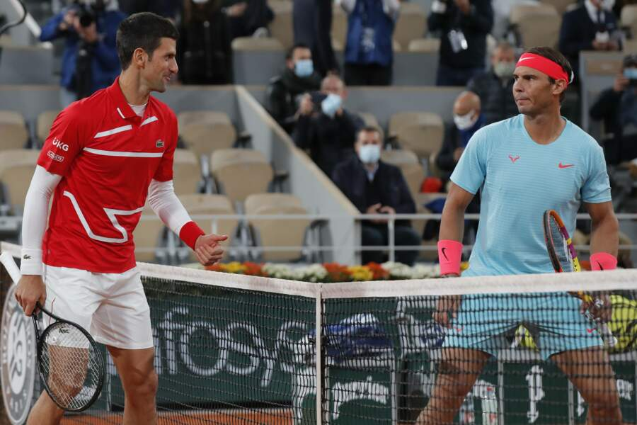 Le duel tant attendu : Rafael Nadal contre Novak Djokovic pour la finale homme de Roland-Garros.